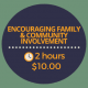encouraging family and community involvement