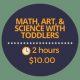 math art and science with toddlers
