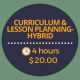 curriculum and lesson planning hybrid