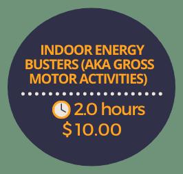 Indoor Energy Busters (AKA Gross Motor Activities)